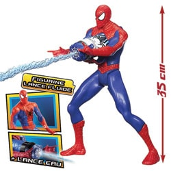 Spiderman Figurine Lance-Fluide