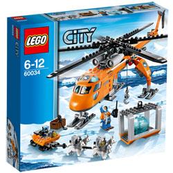 60034-Lego City Hélicoptère Arctique