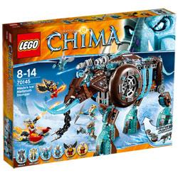 70145-Lego Chima Mammouth des Glaces