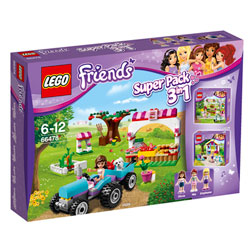 66478-Lego Friends Pack 3 en 1
