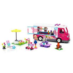 Mega Bloks Barbie Camping de luxe