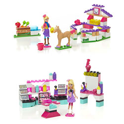 Mega Bloks Barbie Petits univers Assortiment