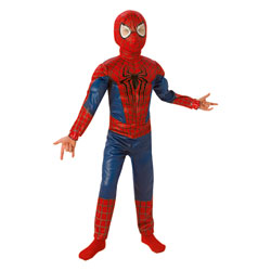Panoplie luxe 3D the Amazing Spiderman 2 Taille M