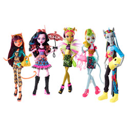 Monster High Poupées Transe-Fusion