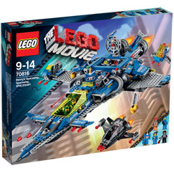 70816-Lego Movie Vaisseau Spatial de Benny