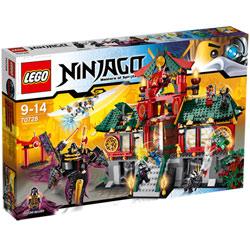 70728-Le Temple de Ninjago