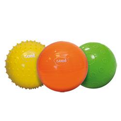 Coffret 3 balles sensorielles