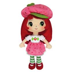 Charlotte aux fraises Fraisi Poupée Chiffon
