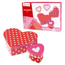 Boîte Créative Décopatch Amour