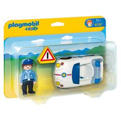 6797-Policier et Voiture