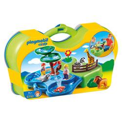 6792-Zoo transportable avec bassins aquatiques