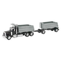 Camion double benne Peterbilt