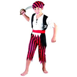 Costume de pirate 4/6 ans
