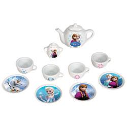 La reine des neiges - dinette porcelaine - 12 accessoires