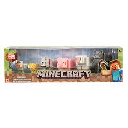 Minecraft Coffret 6 animaux