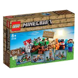 21116-Minecraft Boîte de Construction