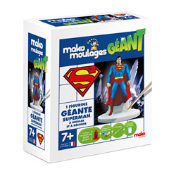 Moulage Superman géant