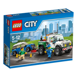 60081-Lego City Le Le pick-up dépanneuse