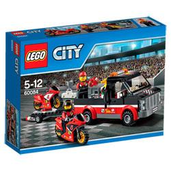 60084-Lego City Le Transporteur de motos de course