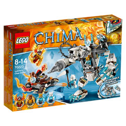 70223-Lego Chima Le robot ours des glaces