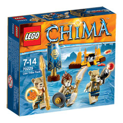 70229-Lego Chima La Tribu Lion