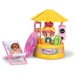 Pinypon relax at the beach + 2 figurines