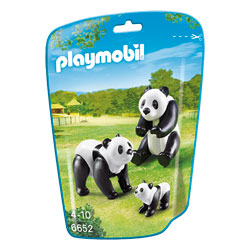 6652-Famille de pandas