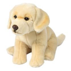 Peluche Labrador Crème 26 cm