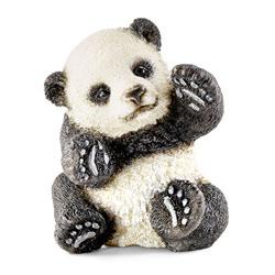 Bébé panda jouant
