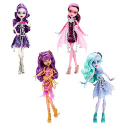 Monster High Poupées Fantôme Hantées