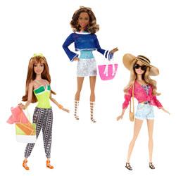 Poupée Barbie mode été