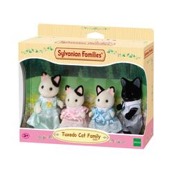 Sylvanian Families - 5181 - La famille chat bicolore