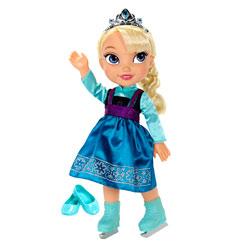 Frozen-Poupée Elsa patineuse 38 cm