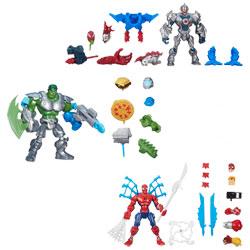 Figurines Avengers avec accessoires Deluxe
