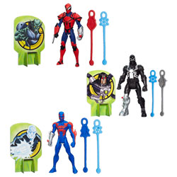 Spiderman Figurine Web Slingers