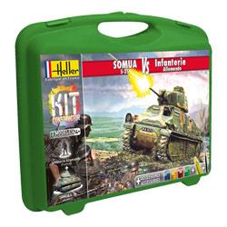 Malette Somua + Infanterie Allemande PM
