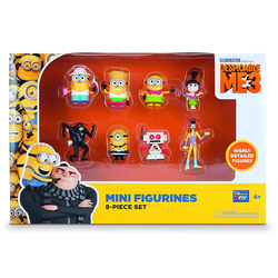 Minions-Set 10 Figurines