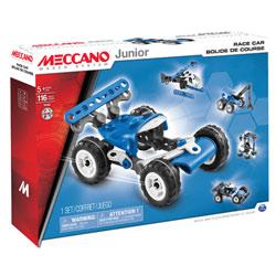Bolide de course 5 modèles meccano junior