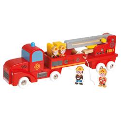 Camion Pompiers Géant
