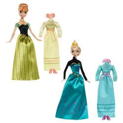 Coffret Anna OU Elsa avec tenue