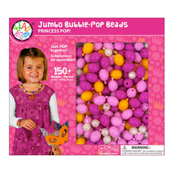 Coffret perles jumbo rose