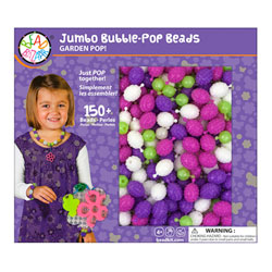 Coffret perles jumbo violet