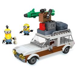Évasion en voiture Minions