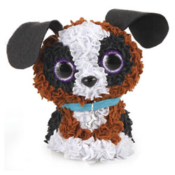 My design 3D chien