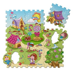 Tapis Puzzle Candy