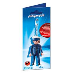 6615-Porte-clés Policier