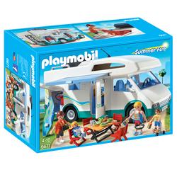 6671 - Playmobil Summer Fun - Famille avec camping-car