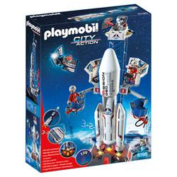 6195-Base de lancement avec fusée
