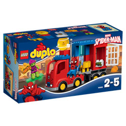 10608-Duplo Spiderman et camion