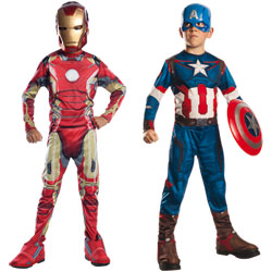 Panoplie Bipack Avengers 5-6 ans